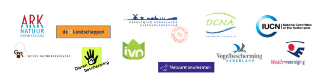 Natuurbeelden - logo's 11 organisaties